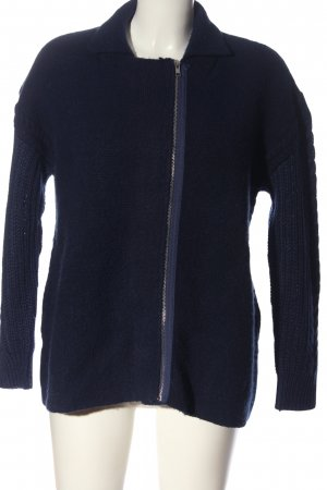 Mango Suit Strickpullover blau Casual-Look