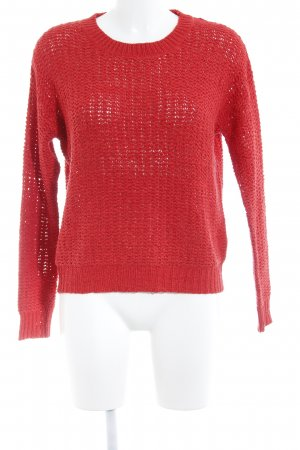 Mango Suit Strickpullover rot Casual-Look