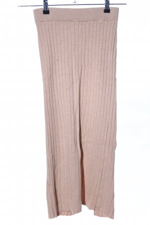 Mango Suit Knitted Skirt pink flecked casual look