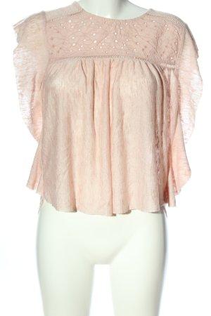 Mango Suit Strickshirt pink meliert Casual-Look