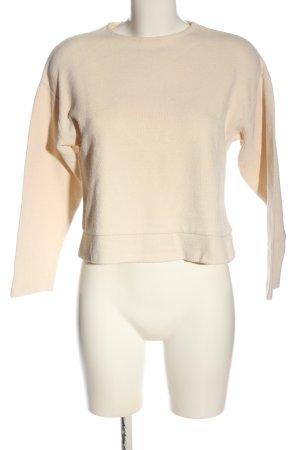 Mango Suit Strickshirt nude Allover-Druck Casual-Look