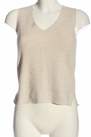 Mango Suit Stricktop creme Casual-Look
