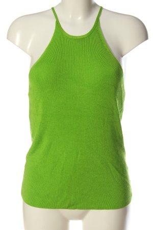 Mango Suit Gebreide top groen casual uitstraling