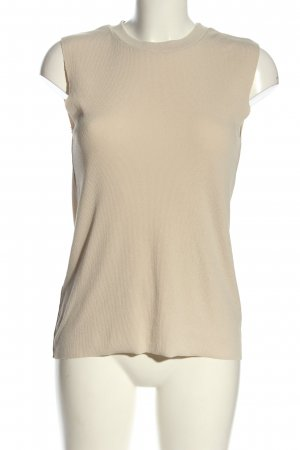 Mango Suit Knitted Top natural white casual look