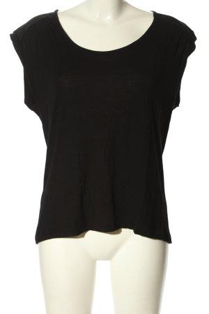 Mango Suit T-Shirt schwarz Casual-Look