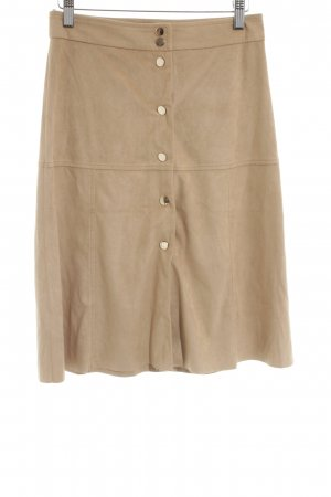Mango Suit Circle Skirt nude casual look