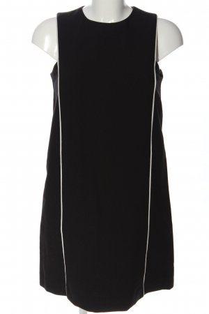 Mango Suit Trägerkleid schwarz-weiß Casual-Look