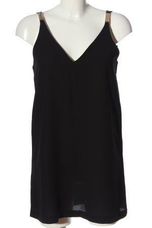 Mango Suit Trägerkleid schwarz Casual-Look
