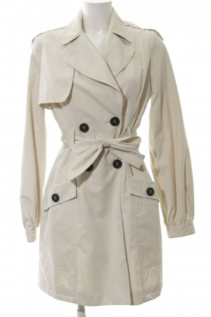 Mango Suit Trenchcoat creme Business-Look