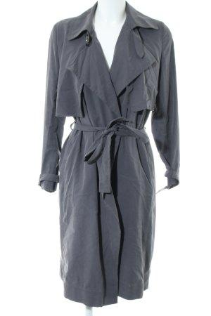 Mango Suit Trenchcoat gris tissu mixte