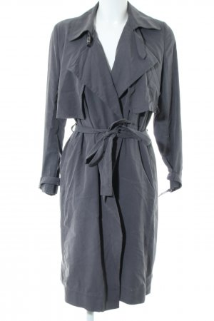 Mango Suit Trenchcoat hellgrau Casual-Look