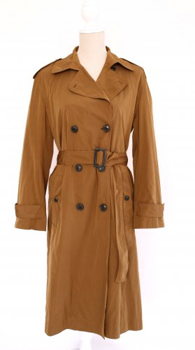 Mango Suit Trenchcoat Trench Coat Mantel Jacke M 38 braun