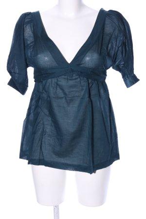 Mango Suit Tunikabluse blau Casual-Look