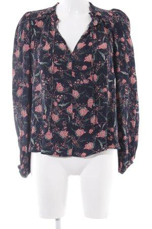Mango Suit Tunikabluse Blumenmuster Casual-Look