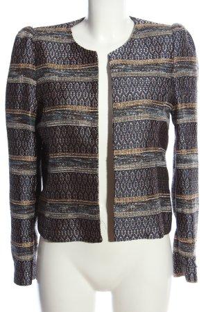 Mango Suit Tweed Blazer allover print elegant