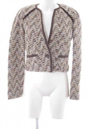 Mango Suit Tweedblazer mehrfarbig Business-Look