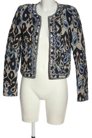 Mango Suit Kurtka przejściowa Abstrakcyjny wzór Elegancki