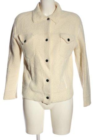 Mango Suit Kurtka przejściowa kremowy W stylu casual