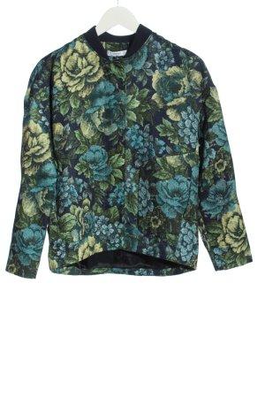 Mango Suit Kurtka przejściowa niebieski Na całej powierzchni W stylu casual