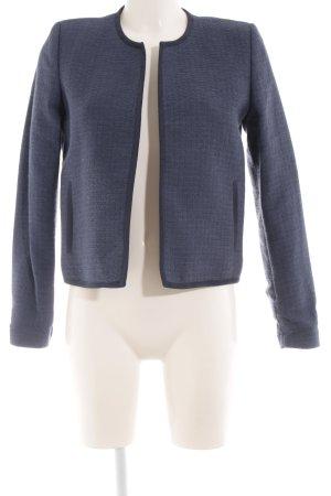 Mango Suit Kurtka przejściowa stalowy niebieski W stylu biznesowym