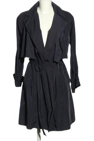 Mango Suit Übergangsmantel dunkelblau Casual-Look