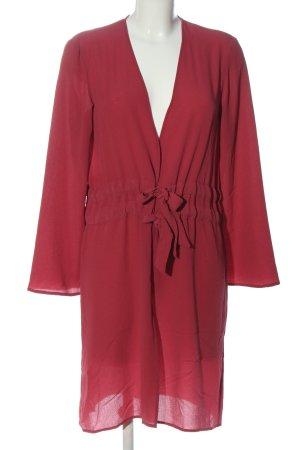 Mango Suit Robe portefeuille rouge style décontracté