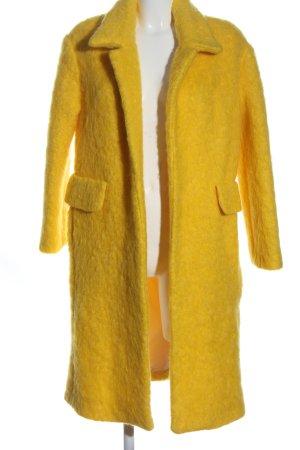 Mango Suit Wintermantel blassgelb Casual-Look
