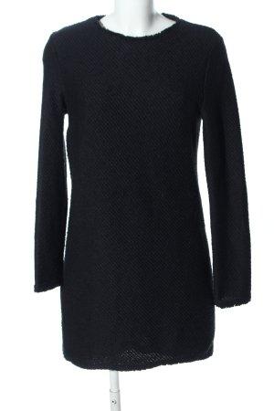 Mango Suit Vestito di lana nero modello web stile professionale