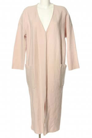 Mango Suit Wollmantel pink Casual-Look