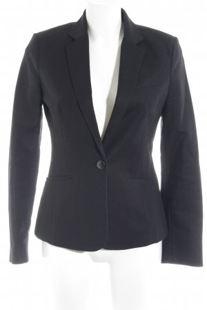 Mango Sweatblazer schwarz Business-Look