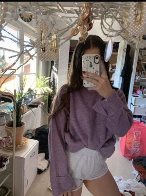 Mango Sweater Lilac Vintage Oversize Pullover