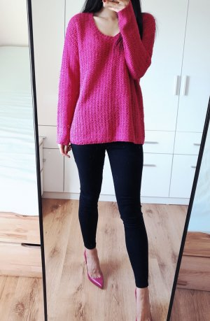 Mango Sweater Pullover Strick over size