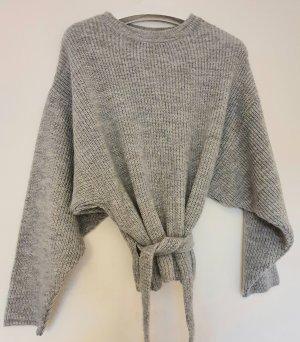 Mango sweater with belt