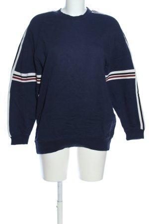 Mango Sweatshirt Streifenmuster Casual-Look