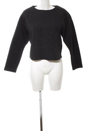 Mango Sweatshirt schwarz Casual-Look