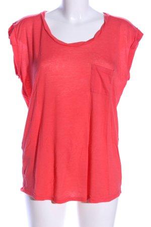 Mango T-Shirt rot Casual-Look
