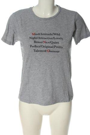 Mango T-Shirt meliert Casual-Look