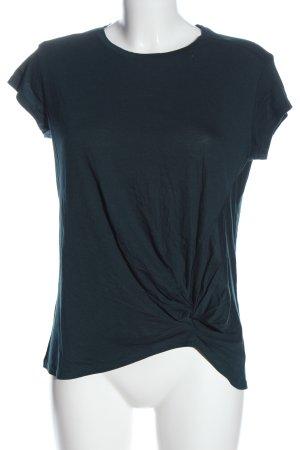 Mango T-Shirt blau Casual-Look