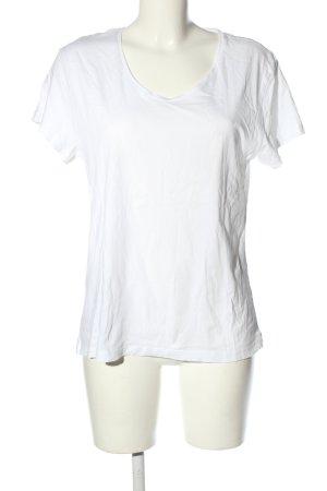 Mango Camiseta blanco look casual