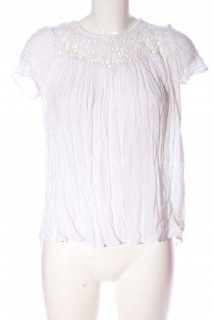 Mango T-Shirt creme Business-Look