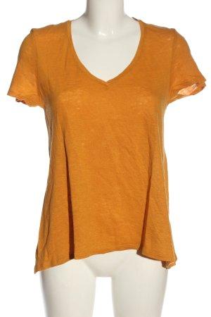 Mango T-Shirt hellorange Casual-Look