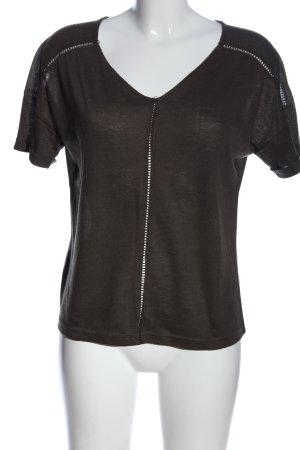 Mango T-Shirt braun Casual-Look