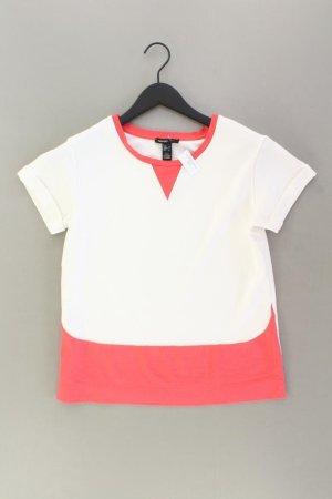 Mango T-Shirt Größe M Kurzarm mehrfarbig aus Viskose