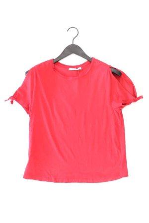 Mango T-Shirt Größe M Kurzarm rot aus Baumwolle