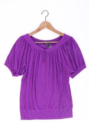 Mango T-Shirt Größe S Kurzarm lila