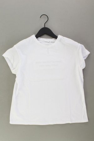Mango T-Shirt Größe S Kurzarm weiß