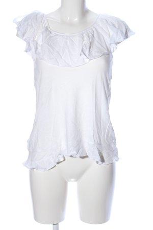 Mango T-Shirt weiß Elegant