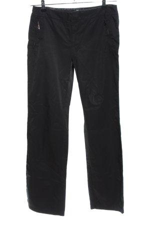 Mango Pantalon thermique noir style décontracté