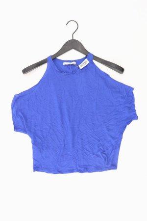 Mango Top blauw-neon blauw-donkerblauw-azuur