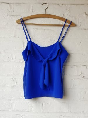 Mango Top Blau S